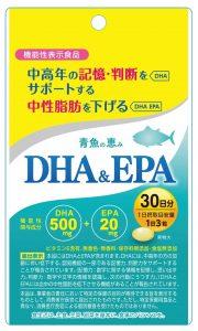 ミネルヴァ青魚の恵み・DHA&EPA